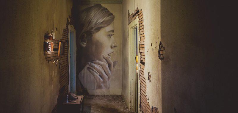 Melbourne street artist - Rone