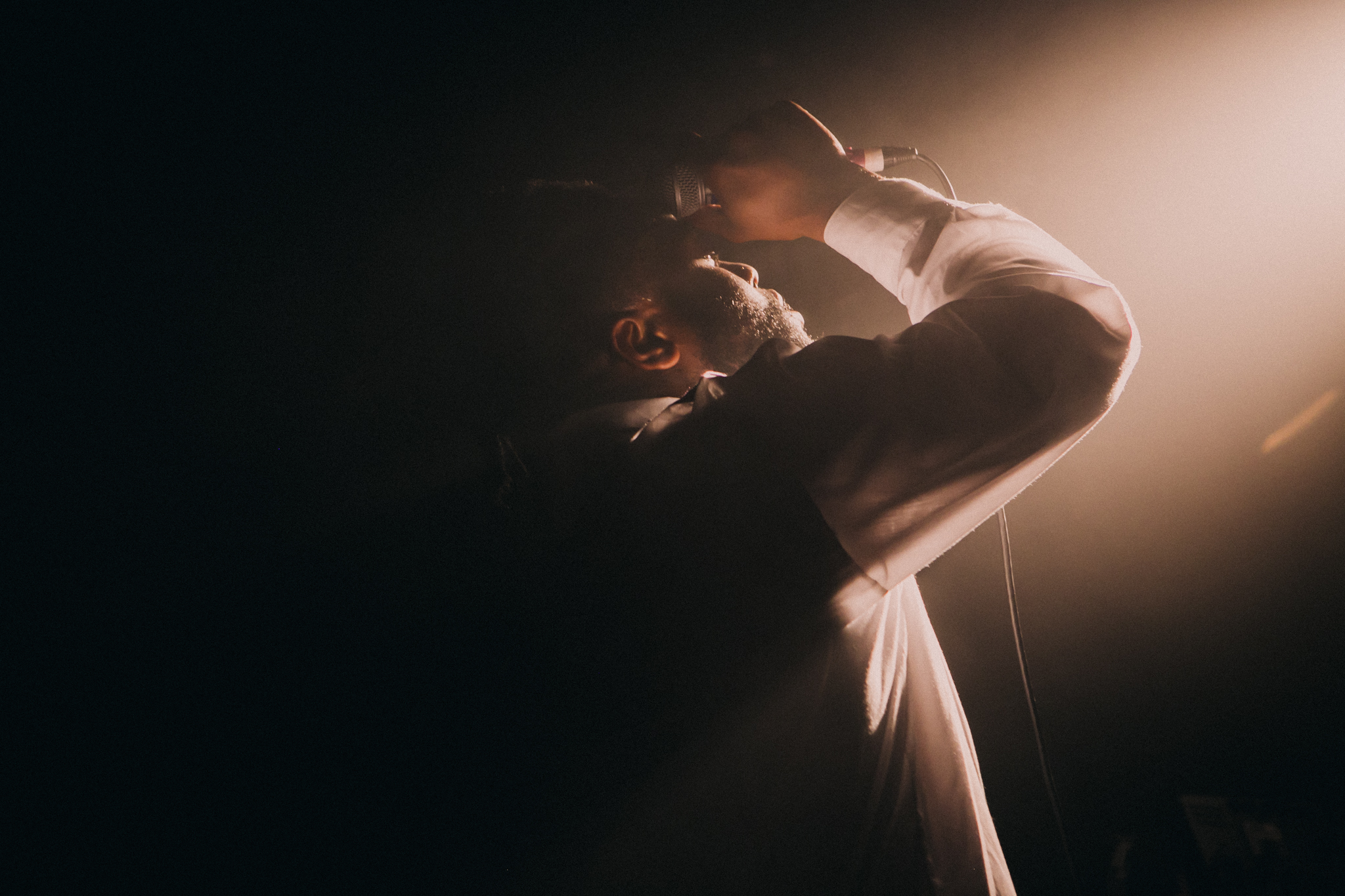 Young Fathers - Corner Hotel