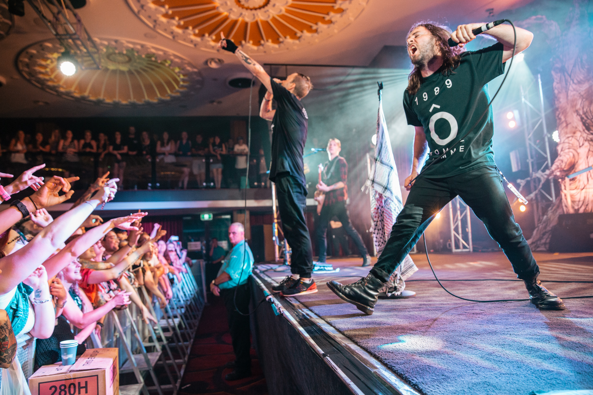 The Used - Eatons Hill Hotel (Friday)