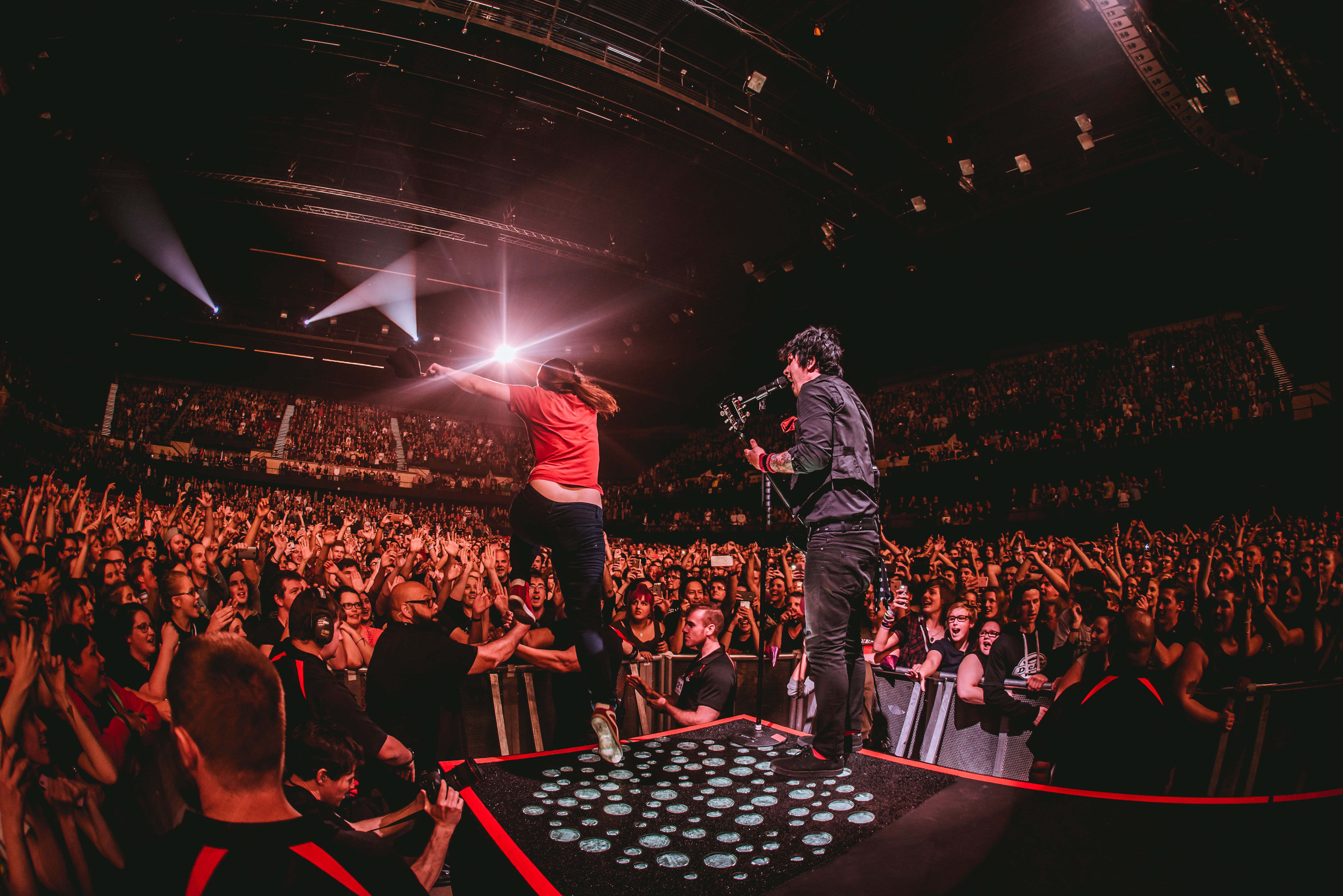 Green Day - Adelaide Entertainment Centre