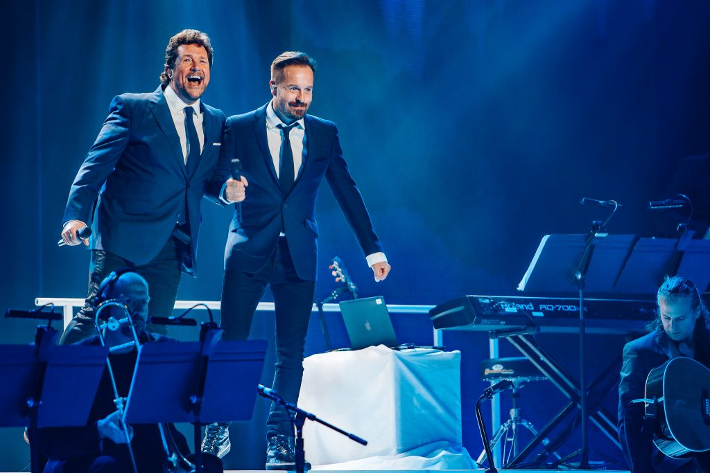 Mitch Lowe Photo - Michael Ball & Alfie Boe - Brisbane-2