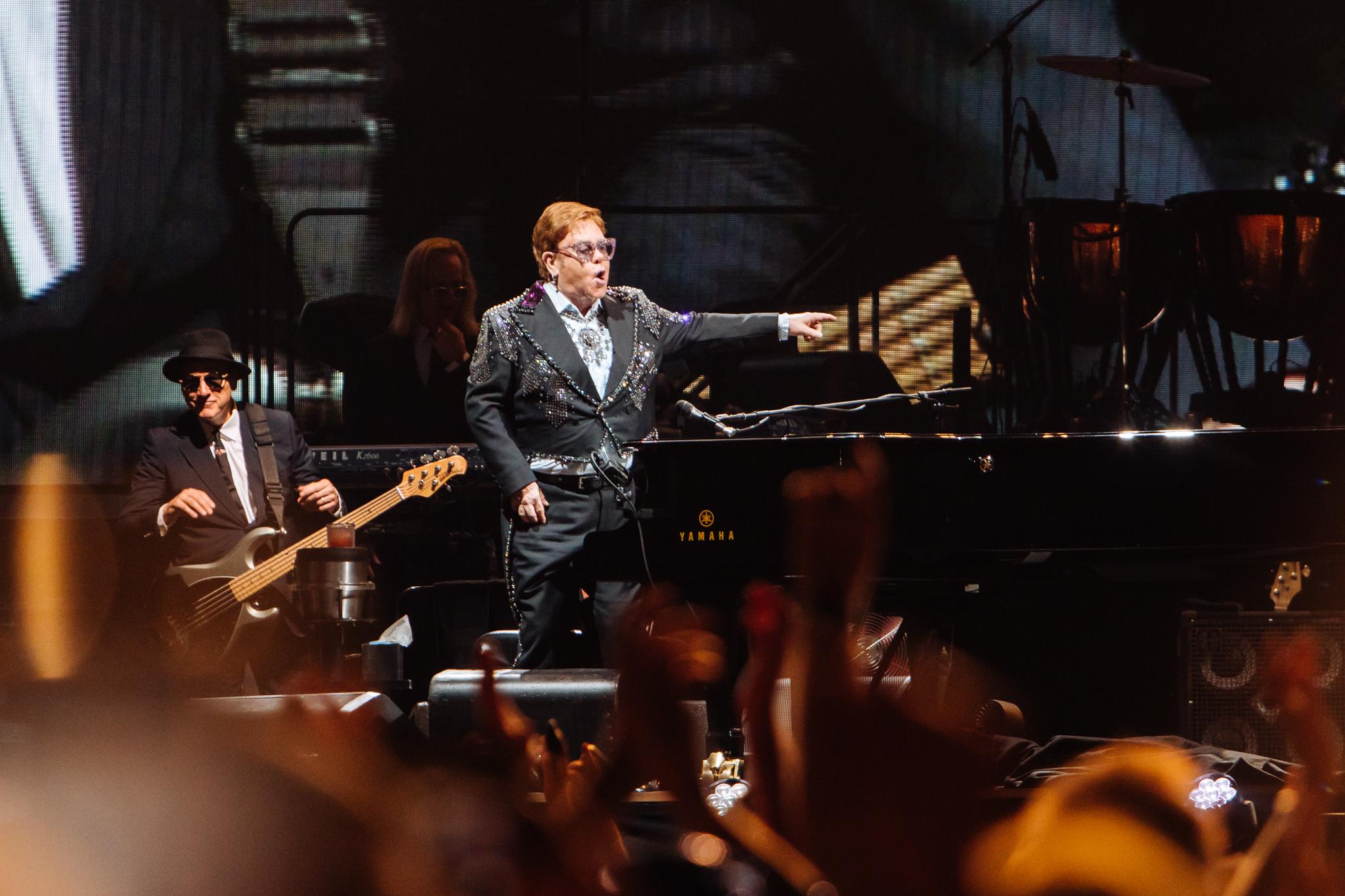 Elton John - Sunshine Coast Stadium