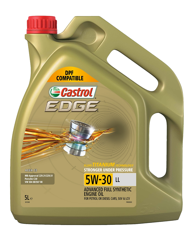 Castrol Edge Full Synthetic 5w 30 Engine Oil 5l 3413348 Fits Audi Sq5 3 0 Tdi Ebay