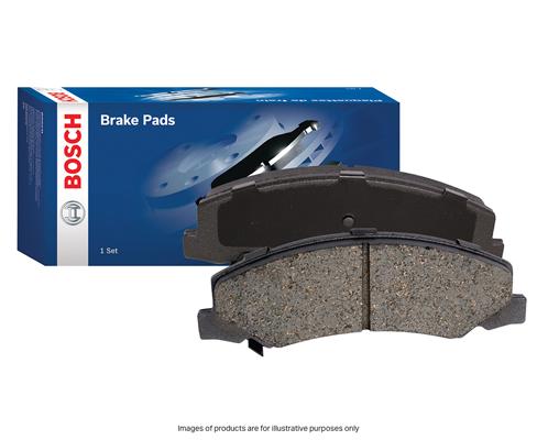 Bosch Brake Pad Set Front Blue Line DB403BL fits Suzuki Sierra 1.0 (SJ410), 1...