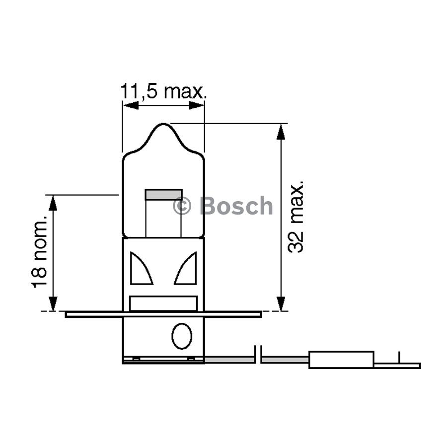 Bosch H3 Globe 12v 55w 0986al1506 4047024454828 Ebay Daihatsu Cuore Fuse Box Diagram