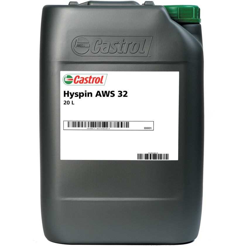 Details about Castrol Hyspin Hydraulic Fluid ISO 32 AWS 20L 3334429