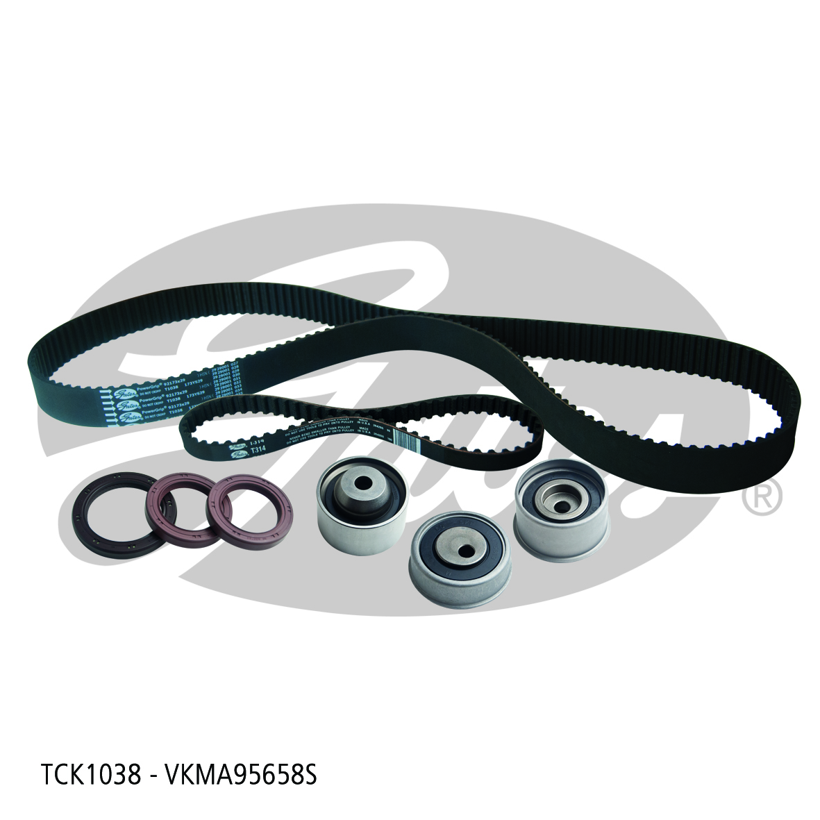 New Gates Timing Belt Kit TCK1038 fits Hyundai Sonata 2.0 16V (EF)
