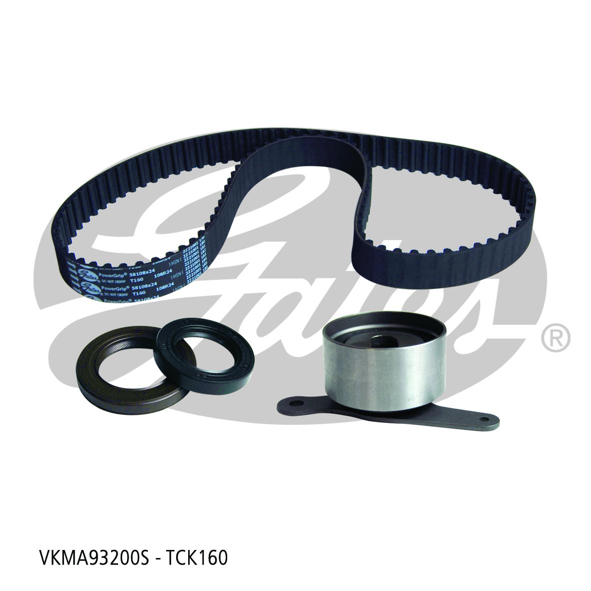 New Gates Timing Belt Kit TCK160 fits Honda Accord 1.8 EX (AD), 2.0 EX (CA5),...