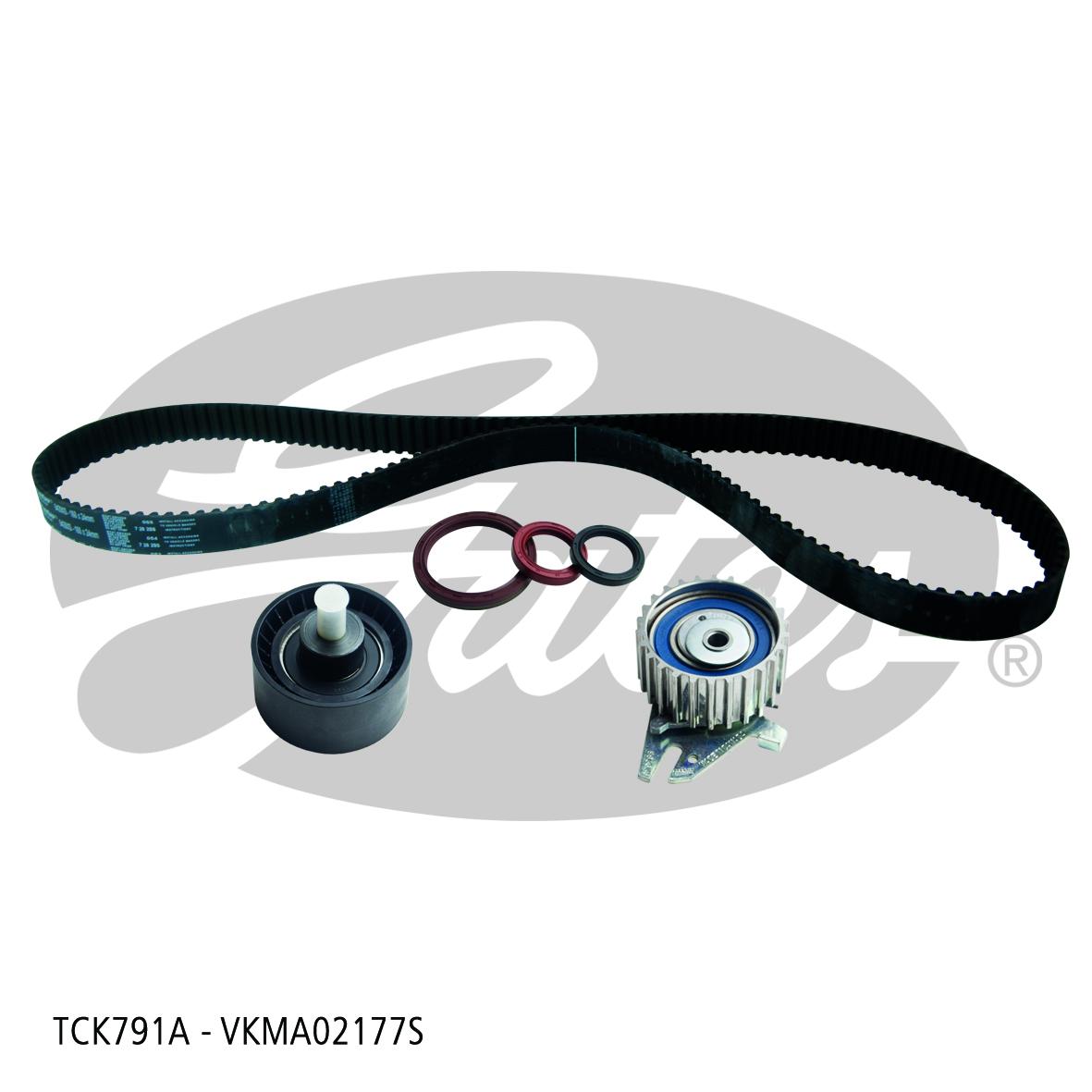 New Gates Timing Belt Kit TCK791A fits Alfa Romeo 147 2.0 16V Twin Spark