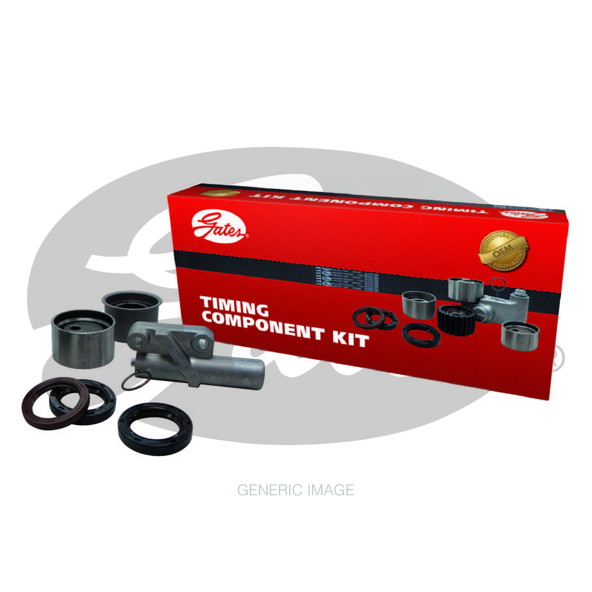 New Gates Timing Belt Kit TCK338