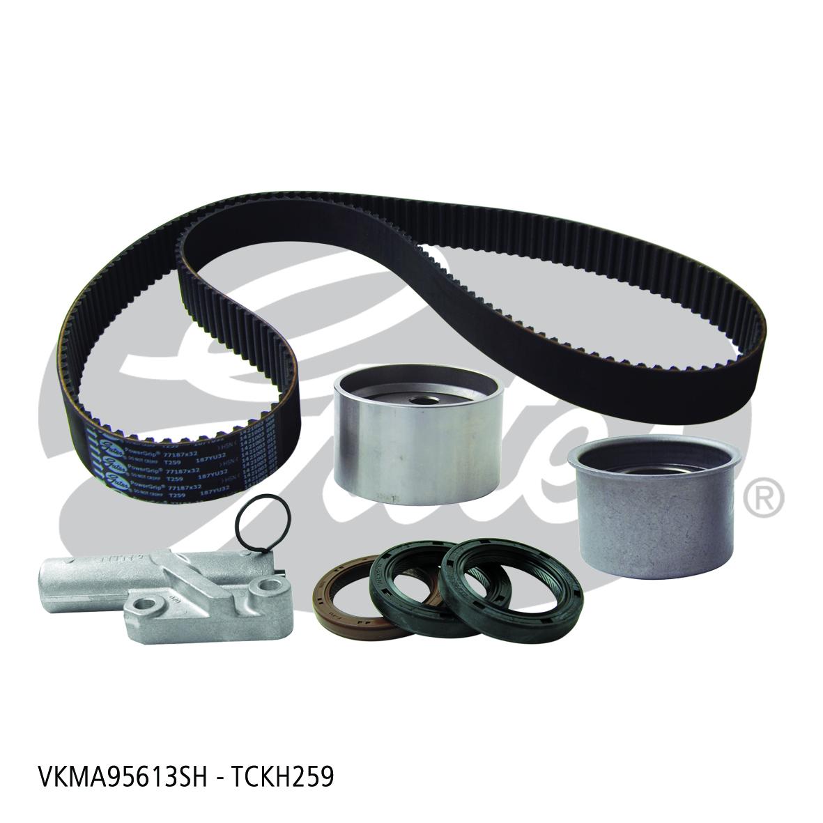 New Gates Timing Belt Kit TCKH259 fits Mitsubishi Challenger V6 (K96W)