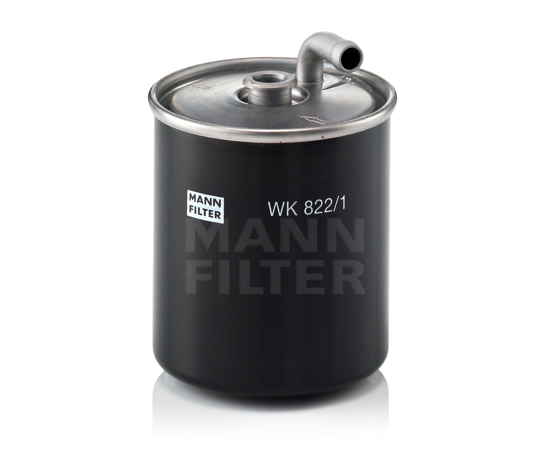 MANN Fuel Filter WK822/1 fits Mercedes-Benz M-Class ML 270 CDI (W163)