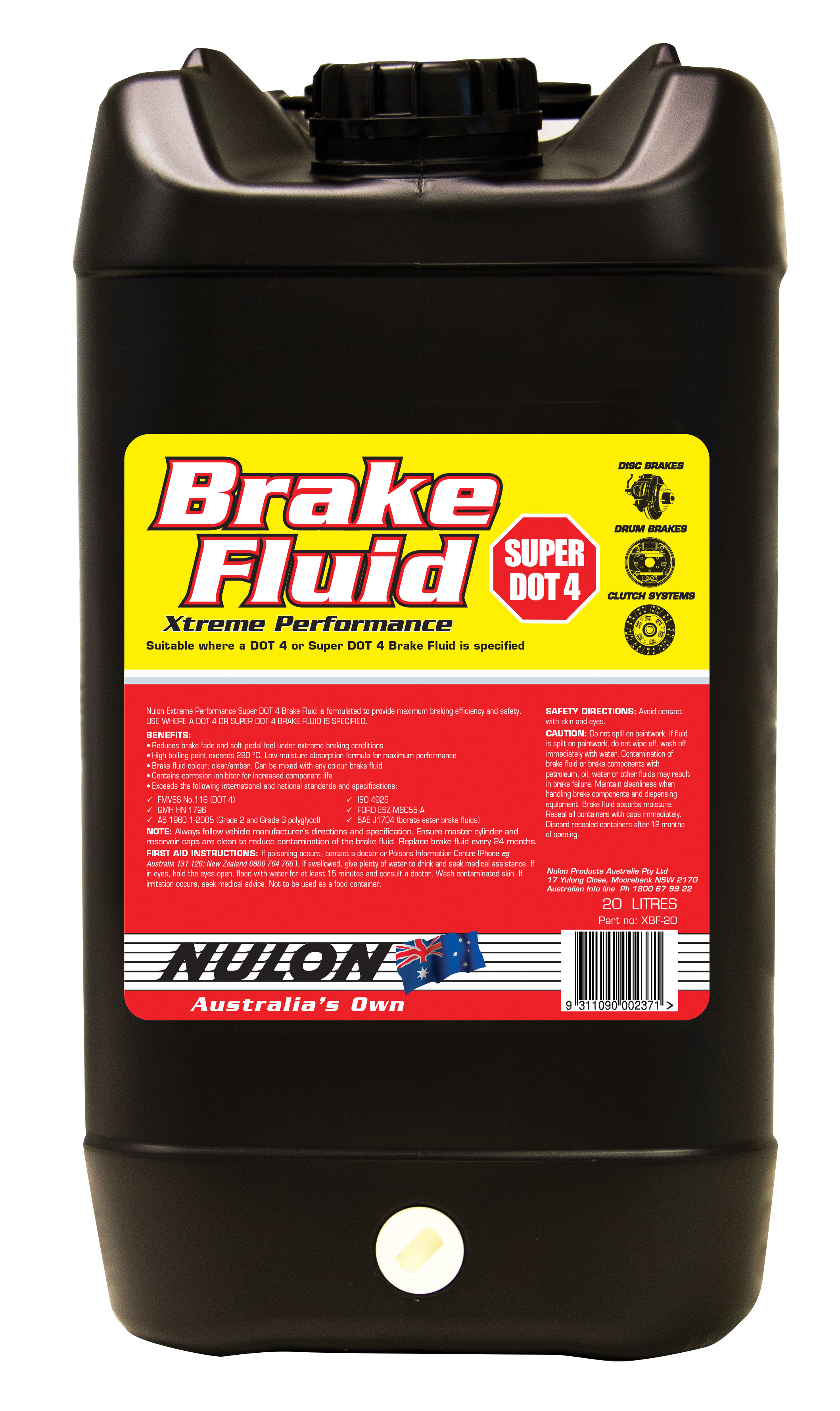 Nulon trade strength oil system cleaner