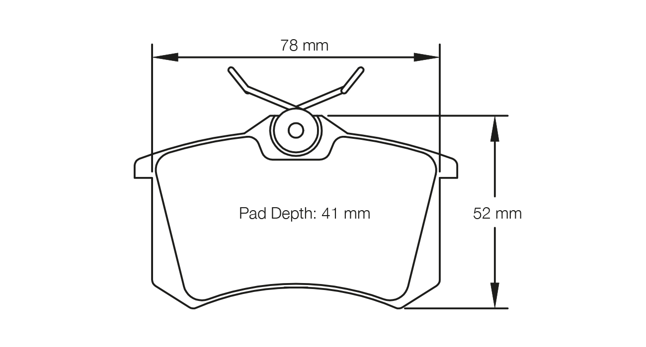 Pagid Racing E1158 Rs 42 Rear Brake Pad Set Ebay Diagram