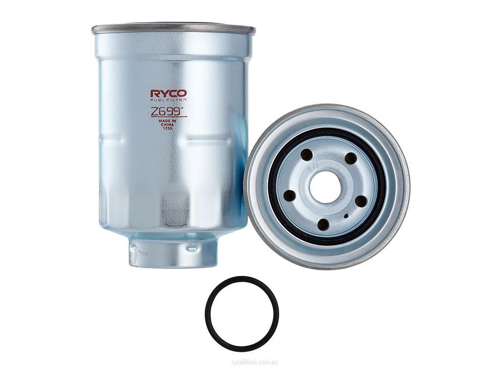 fuel fuel filter mitsubishi fuel filter ryco fuel filter z699 fits mitsubishi pajero 3.2 di-d , 3 ...