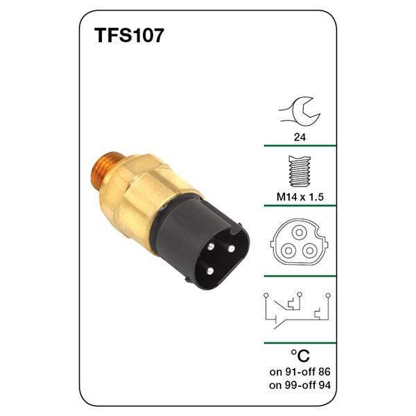 details about tridon fan switch tfs107