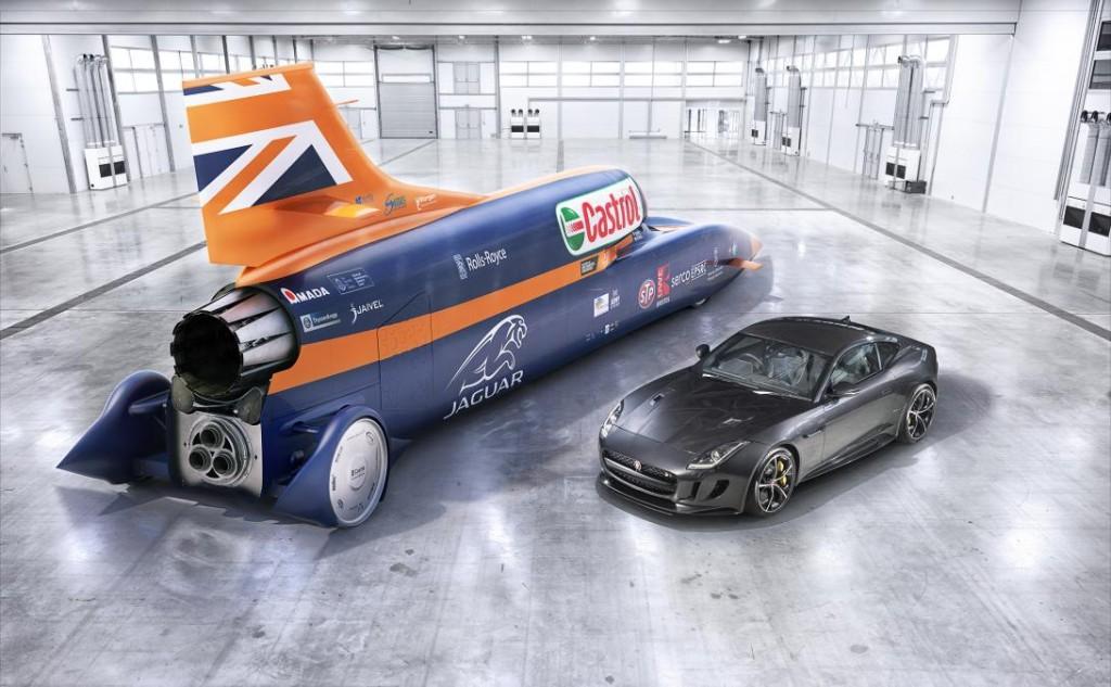 Bloodhound SSC Land Speed Car Spares Box
