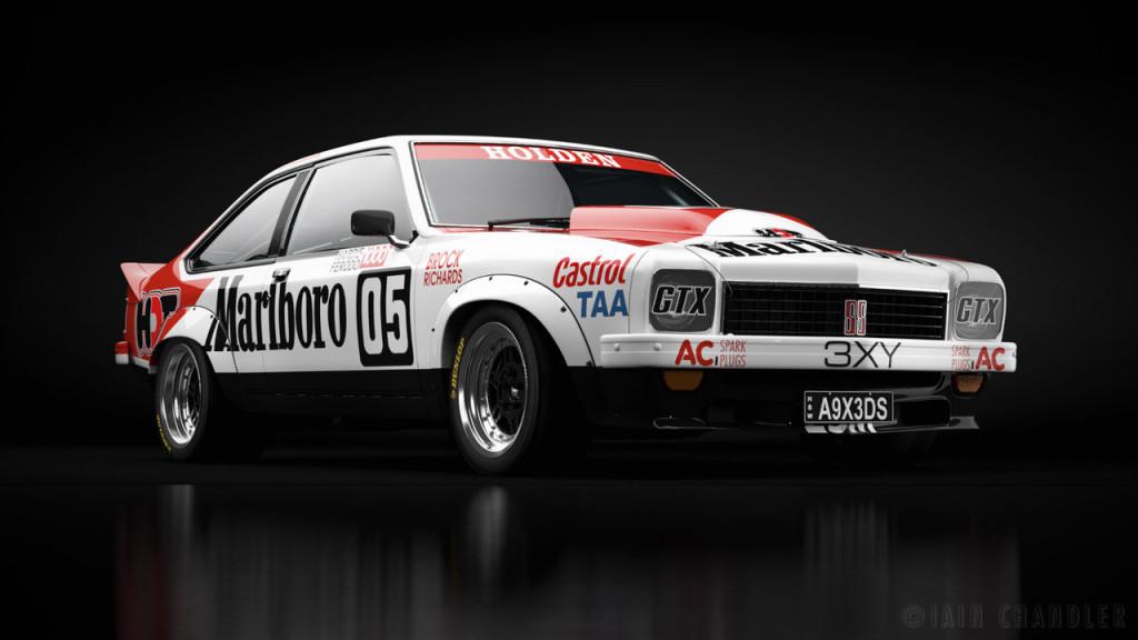 V8 Supercars touring Cars Bathurst Liveries Holden Torana SS A9X
