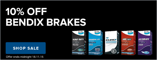 10% off Bendix Brakes Spares Box Click Frenzy