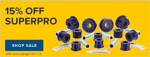 15% off Superpro Spares Box Click Frenzy