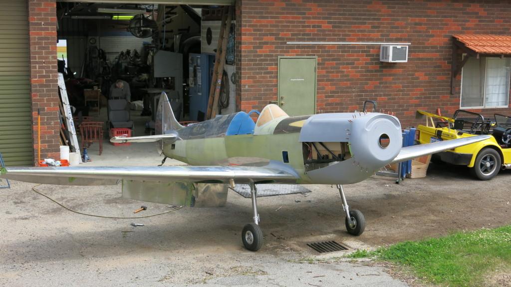 WWII era Spitfire - Ryco Filters