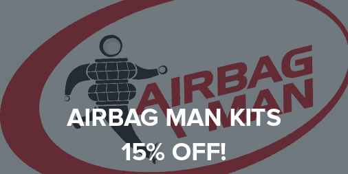15% off all Airbag Man airbag suspension kits!