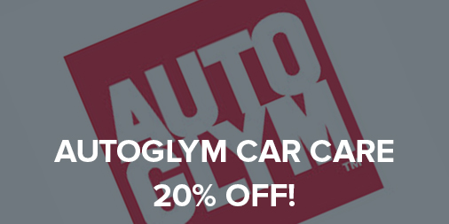 20% off all Autoglym car care!