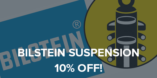 10% off all Bilstein suspension!
