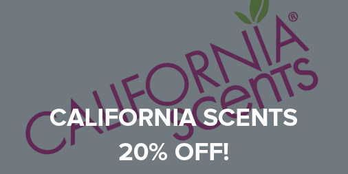 20% off all California Scents air fresheners!