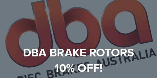 10% off all DBA brake rotors!