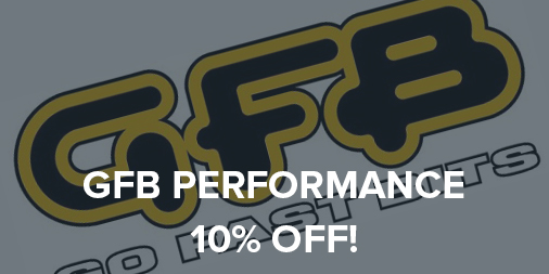 10% off all GFB performance parts!