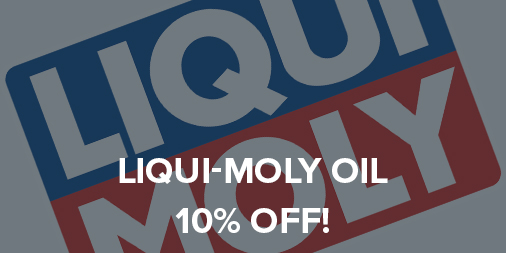 10% off all LIQUI MOLY Oil!