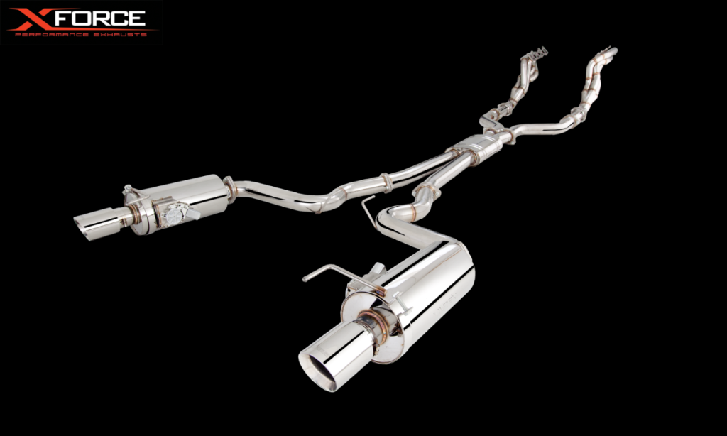 Ford Mustang XFORCE Exhaust
