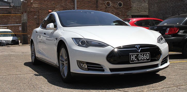 Tesla Limousine Spares Box
