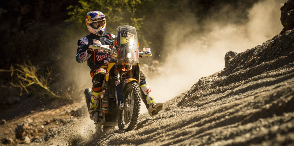 Toby Price 20165 Dakar Rally