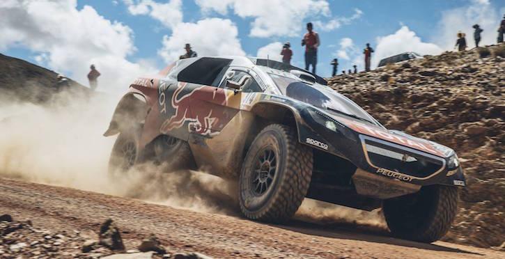 Sebastian Loeb Dakar Rally 2016