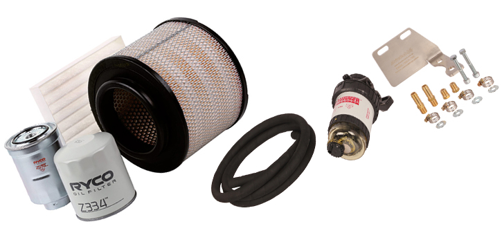 Ryco Drivetech 4x4 Toyota Hilux Filters