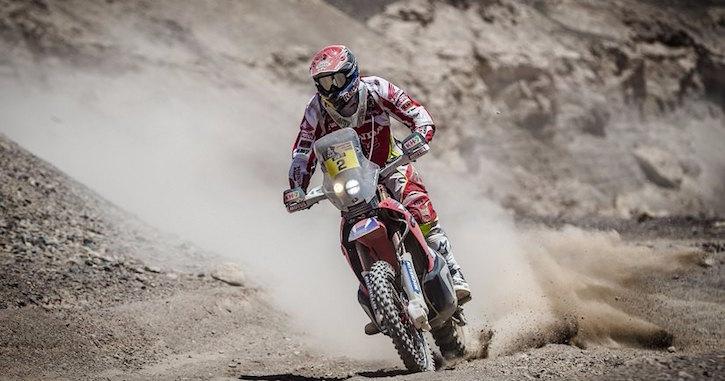 Toby Price 2016 Dakar Rally
