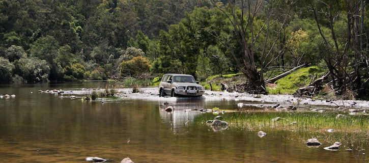 4x4 off road tracks Snowy River Drive