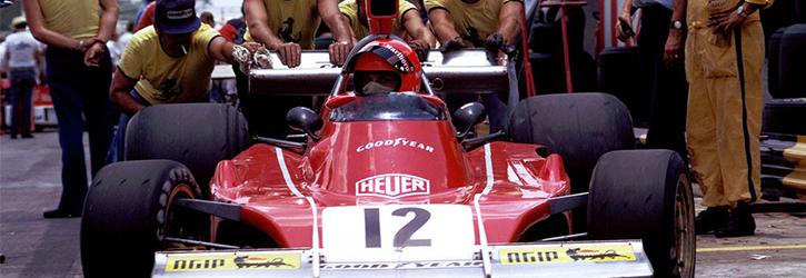 Niki Lauda 1974 Ferrari