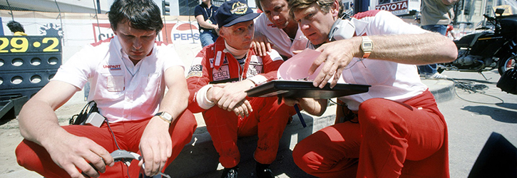 Niki Lauda 1982 McLaren