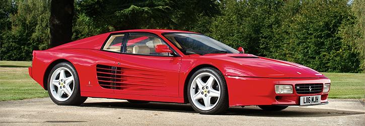 Antique Cars Ferrari 512