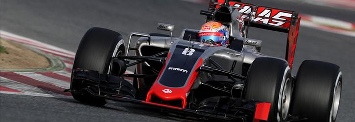 Haas 2016 F1 Car