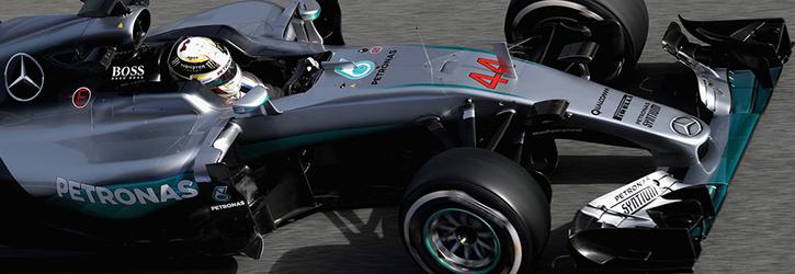Mercedes 2016 F1 Car