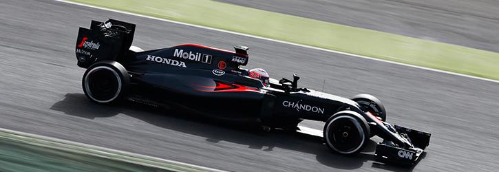 Mclaren 2016 F1 Car