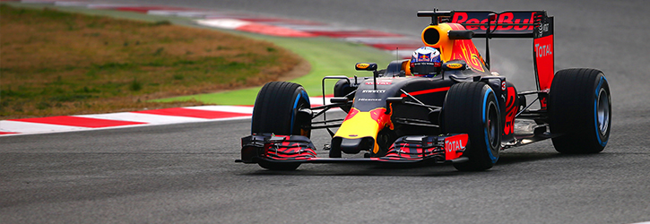 Red Bull 2016 F1 Car
