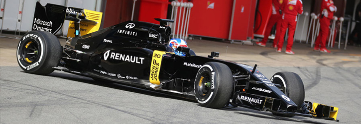 Renault 2016 F1 Car