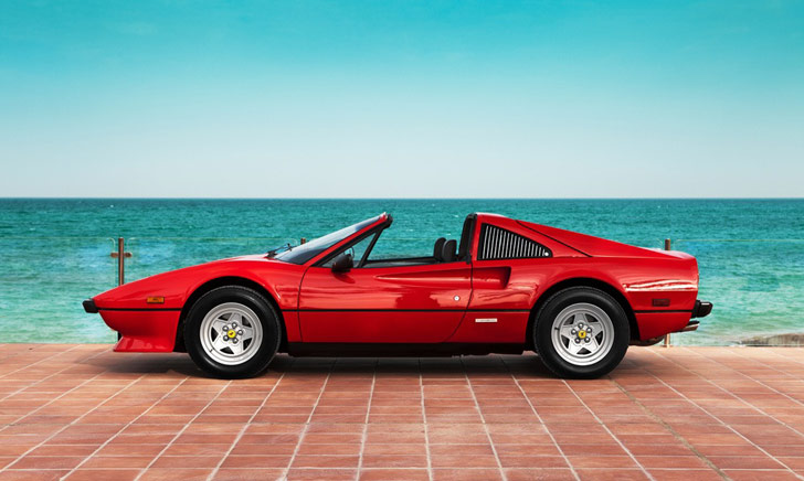 The Ferrari 308 GTS Quattrovalvole in all its glory! source: crankandpiston.com