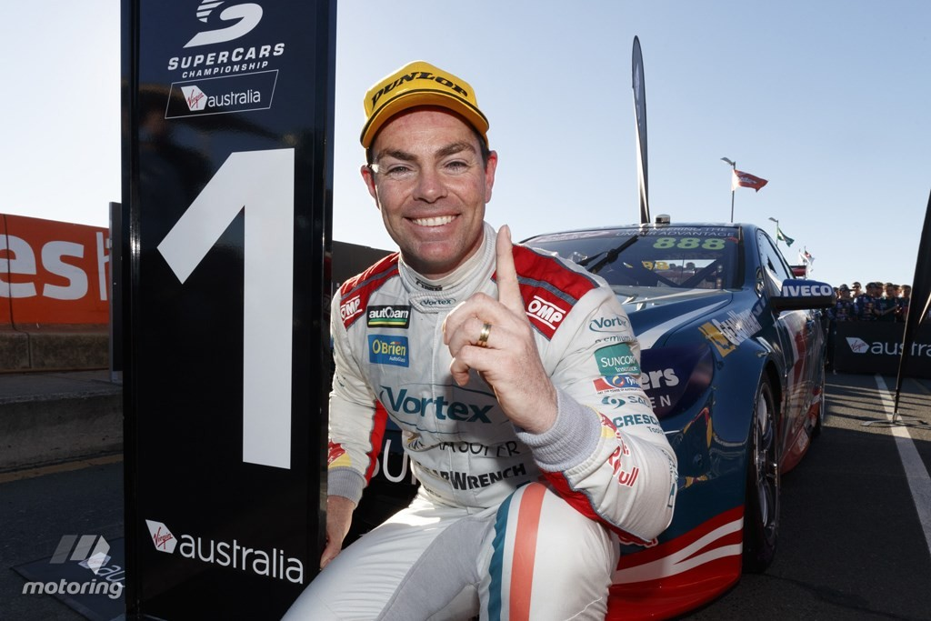 Craig Lowndes adds another victory to his long list at Ipswich source: motoring.com