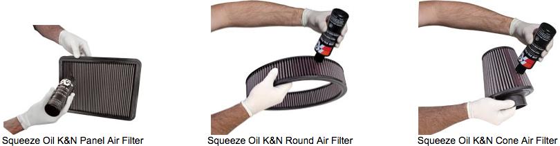 Oil K&N Air Filter